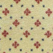 Cream Patterned Printed Carpet