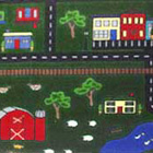 Tiny Town Closeout Kids Rug