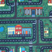 Milliken Kid Carpet Tile Tiny Town