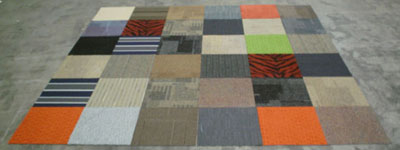 Mix and Match Carpet Tiles