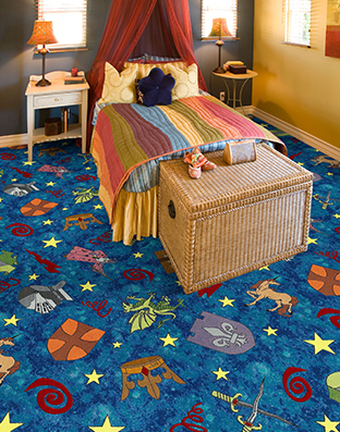 Mythical Kingdom Printed Carpet