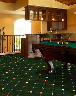 Billiards Printed Carpet