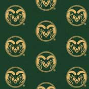 Colorado State University Collegiate Broadloom Carpet