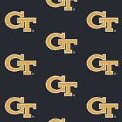 Georgia Tech Collegiate Broadloom Carpet