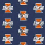 University of Illinois Collegiate Broadloom Carpet