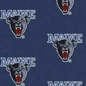 University of Maine Black Bears Collegiate Broadloom Carpet and College Area Rugs