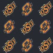 Oklahoma State University Cowboys Collegiate Broadloom Carpet and College Area Rugs