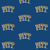 University of Pittsburgh Panthers Collegiate Broadloom Carpet and College Area Rugs