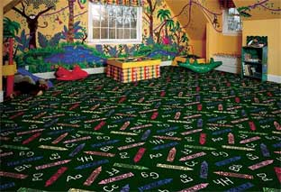 Crayons Printed Carpet