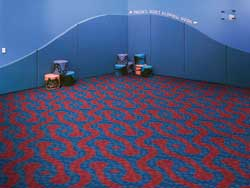 Free Pattern Rotating Carpet Tiles