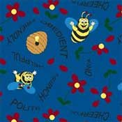 Printed Carpet Kid Essentials Bee Attitudes