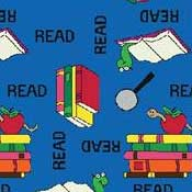 Printed Carpet Kid Essentials Bookworm