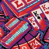 Printed Carpet Games People Play Monte Carlo