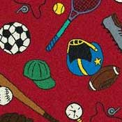 Printed Carpet Kid Essentials Multi-Sport