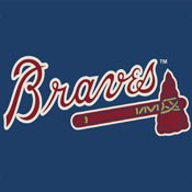 Atlanta Braves MLB Area Rugs