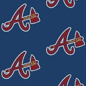 Atlanta Braves 1102 Broadloom Carpet