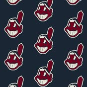 Cleveland Indians 1120 Broadloom Carpet