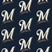 Milwaukee Brewers 1109 Broadloom Carpet