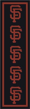 San Francisco Giants 1114 Runner