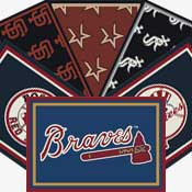 Major League Baseball Area Rugs
