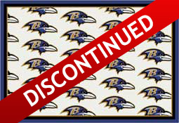 Baltimore Ravens NFL Area Rugs and Mats