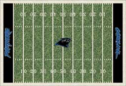 Carolina Panthers C1015 Football Rug
