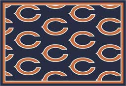 Chicago Bears NFL Area Rugs and Mats