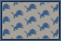 Detroit Lions NFL Area Rugs and Mats