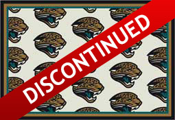 Jacksonville Jaguars NFL Area Rugs and Mats