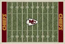 Kansas City Chiefs C1048 Football Rug
