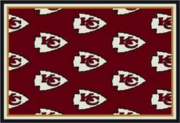 Kansas City Chiefs NFL Area Rugs and Mats