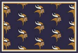 Minnesota Vikings NFL Area Rugs and Mats