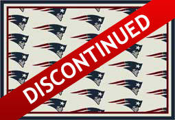 New England Patriots NFL Area Rugs and Mats