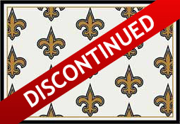New Orleans Saints NFL Area Rugs and Mats