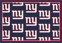 New York Giants NFL Area Rugs and Mats