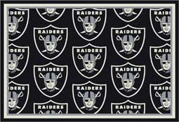 Oakland Raiders NFL Area Rugs and Mats