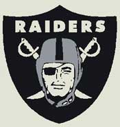 Oakland Raiders NFL Carpet
