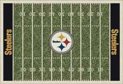 Pittsburgh Steelers NFL Area Rugs and Mats