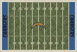 San Diego Chargers NFL Area Rugs and Mats