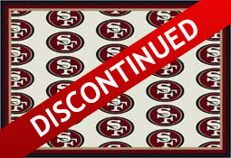 San Francisco 49ers NFL Area Rugs and Mats