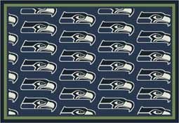 Seattle Seahawks NFL Area Rugs and Mats