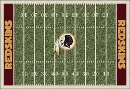 Washington Redskins NFL Area Rugs and Mats