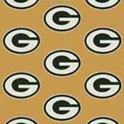 Greenbay Packers NFL Broadloom Carpet
