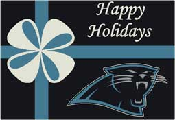 Carolina Panthers NFL Holiday Area Rugs and Mats
