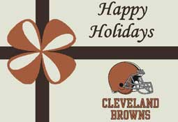 Cleveland Browns NFL Holiday Area Rugs and Mats