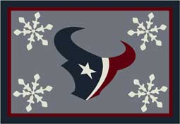 Houston Texans NFL Holiday Area Rugs and Mats