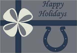 Indianapolis Colts NFL Holiday Area Rugs and Mats