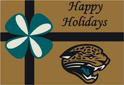 Jacksonville Jaguars NFL Holiday Area Rugs and Mats