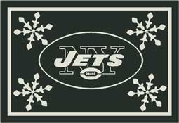 New York Jets NFL Holiday Area Rugs and Mats