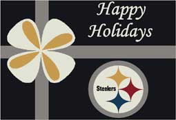 Pittsburgh Steelers NFL Holiday Area Rugs and Mats